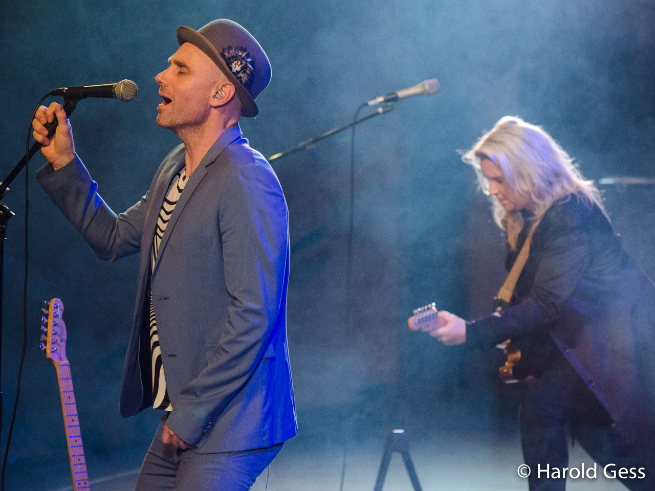 Kahn Morbee with Karen Zoid, Grahamstown 2017