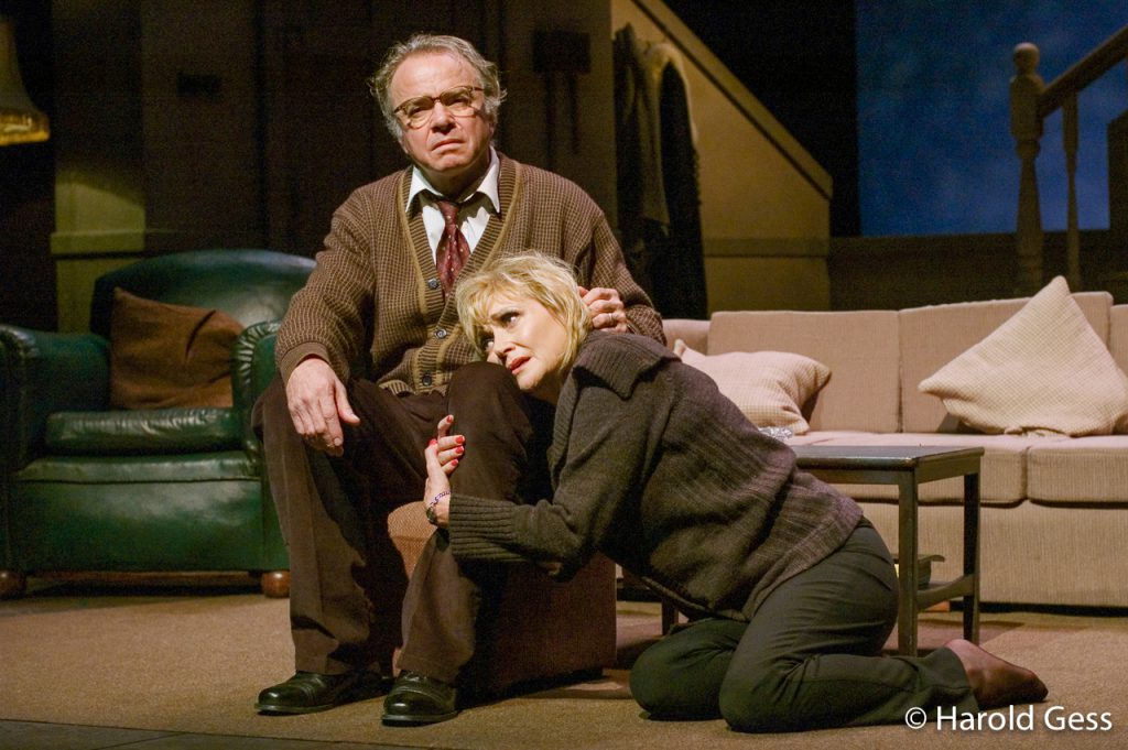 Sean Taylor and Fiona Ramsay in a Baxter Theatre Centre production of Edward Albee's <i>Who's Afraid of Virginia Woolf</i>, 2007