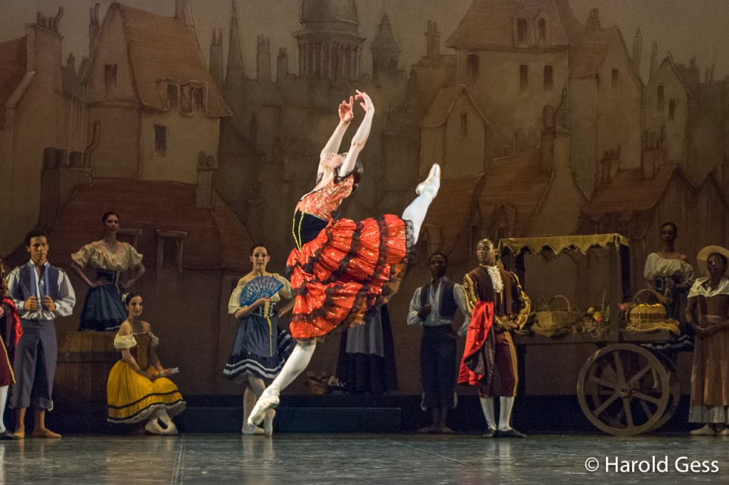 Burnise Silvius as Kitri in The South African Ballet Theatre production of Don Quixote, 2008.