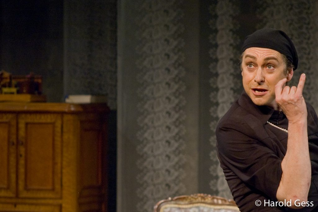 Jeremy Crutchley  in Janice Honeyman's direction, of I Am My Own Wife, at the National Arts Festival in Grahamstown, 02 July 2008.